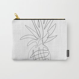 One Line Pineapple Carry-All Pouch