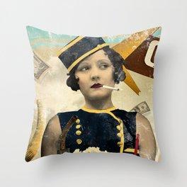 The Waitress Throw Pillow
