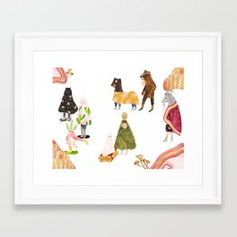 The Great Migration Framed Art Print