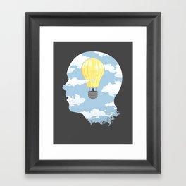 Bright Idea Framed Art Print