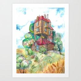The Burrow Art Print