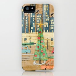Driving Home for Christmas iPhone Case