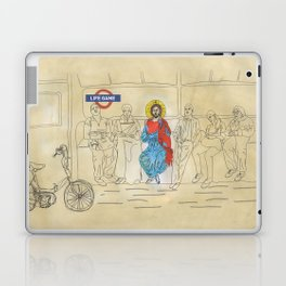 LIFEGAMES,tshirt,mug,laptopcover,iphonecover,tube,london Laptop & iPad Skin