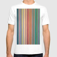 STRIPES 31 White Mens Fitted Tee MEDIUM