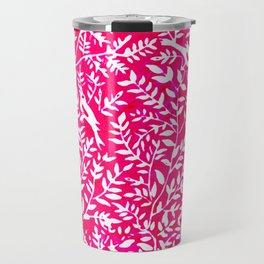 Wonderlust Pink#Birds let's run away Travel Mug