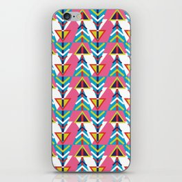 geometry and arrows iPhone Skin