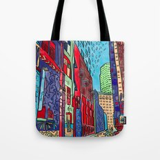 Back Alleys Aren't So Bad Tote Bag