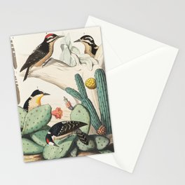 Woodpeckers And Cacti Stationery Cards