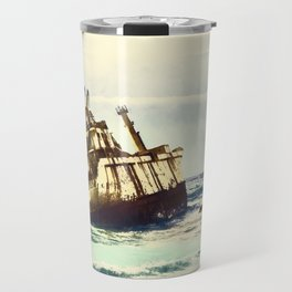 shipwreck aqrefn Travel Mug