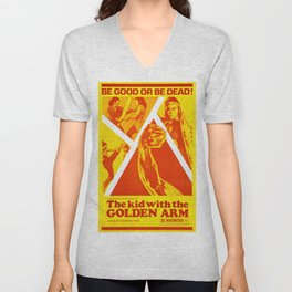 The Kid with the Golden Arm Unisex V-Neck