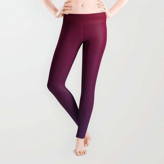 DESTINATION - Minimal Plain Soft Mood Color Blend Prints Leggings