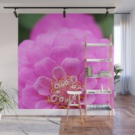 Pink Bloom Wall Mural