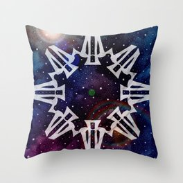 Seal of Auxis Throw Pillow