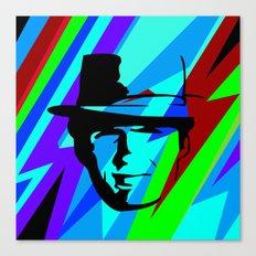 Pop Art Movie Star No. 4 Canvas Print