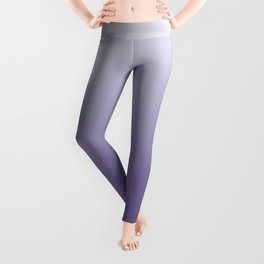 Ombré Ultra Violet Gradient Motif Leggings