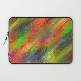 Abstract crayon background Laptop Sleeve