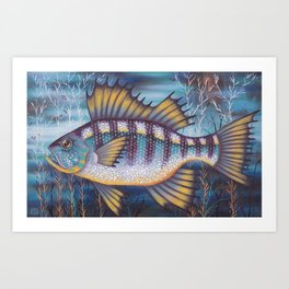 Creature of the Sea Art Print
