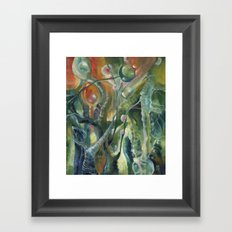 Springtime in Jupiter Framed Art Print