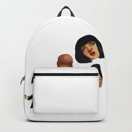 Pulp Fiction Movie Poster Mia Wallace Classic Backpack