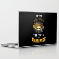 warhammer Laptop & iPad Skins featuring Chaplain, Warhammer 40K by ZsaMo Design