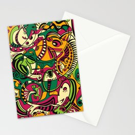 Horse -12 Animal Signs Stationery Cards