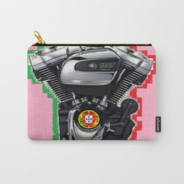 Portuguese Hot Rod Pink. Carry-All Pouch