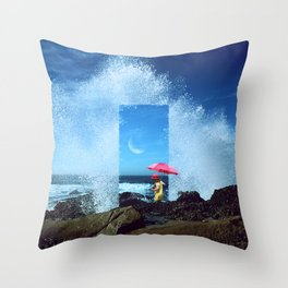 Magic Door to the Other Side Throw Pillow