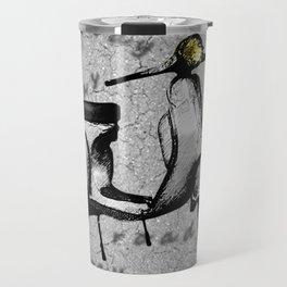 White Vespa Scooter Travel Mug