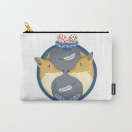 fox couple Carry-All Pouch