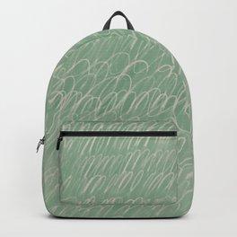 Cy Scribble in Mint Backpack