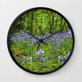 Looking for Fairies Wall Clock