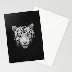 Meduzzle: White Tiger Stationery Cards