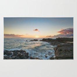 Sunset Kaena Point, Hawaii Rug