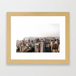 New York City // Framed Art Print