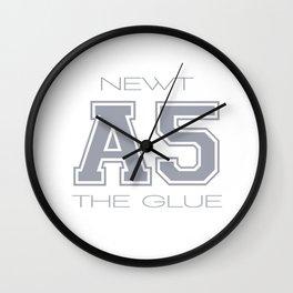 SUBJECT A 5 - NEWT Wall Clock