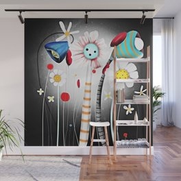 Fly Me to the moon Wall Mural