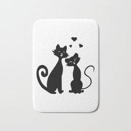 Cat Love (Lights) Bath Mat