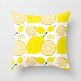 CITRIC PATTERN Throw Pillow