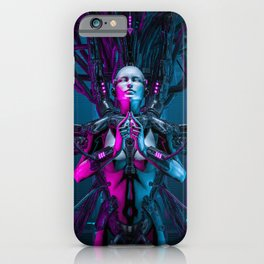 The Quantum Zen Queen iPhone Case