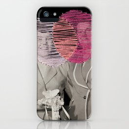 Are You Thinking What I'm Thinking? iPhone Case