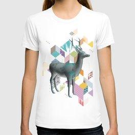 Colorful deer 3d T-shirt