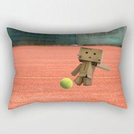 Danbo on tour IV. Rectangular Pillow
