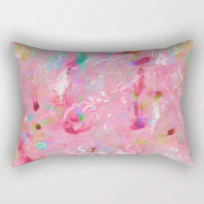 Acid Rain Rectangular Pillow