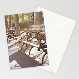 New York City Park Bench Moments Stationery Cards