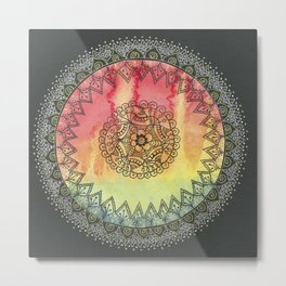 Rainbow of Succes Metal Print
