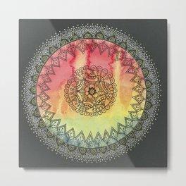 Rainbow of Succes Metal Print