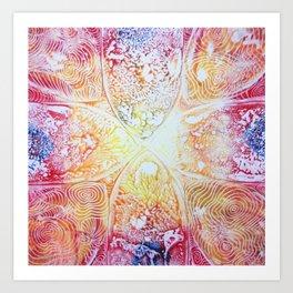 Heat Radiation Art Print