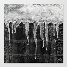 'Icicles'  Canvas Print