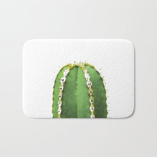 Simple Cactus Bath Mat