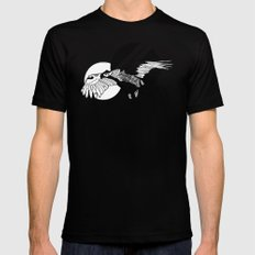 Hawk Mens Fitted Tee LARGE Black